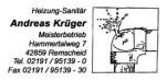 Logo Heizung-Sanitär Andreas Krüger Meisterbetrieb