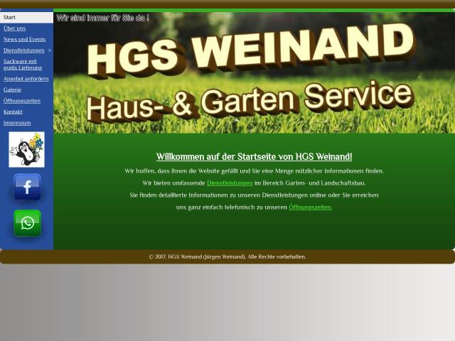 ▷ HGS Weinand Haus- und Gartenservice Weinand ✅ | Tel. (0173 ...
