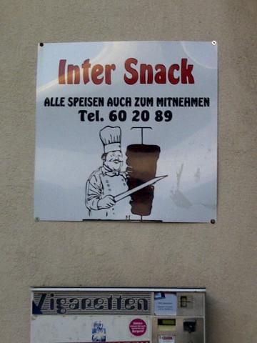 Inter Snack Döner Bistroschnell Restaurant Gaststätten