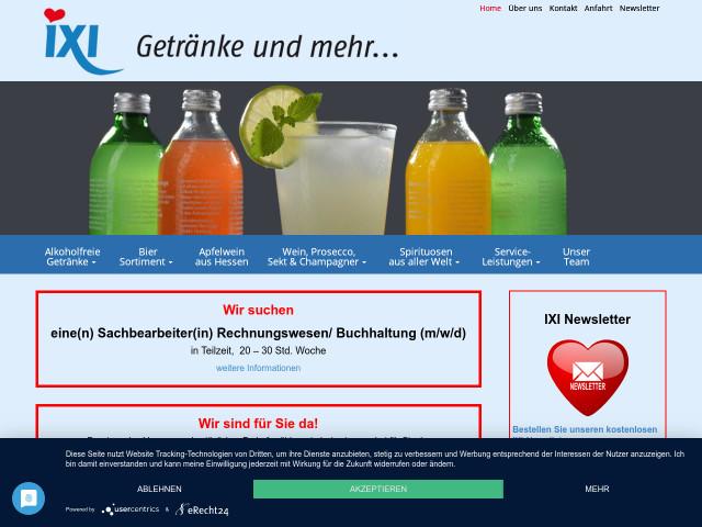 ▷ IXI Getränke GmbH ✅ | Tel. (069) 7080... ☎ - Öffnungszeiten