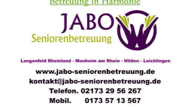 Gartenbau Langenfeld jabo seniorenbetreuung tel 02173 29562