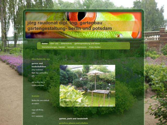 ▷ jörg raudonat garten- und landschaftsbau ✅ | tel. (0331) 96780