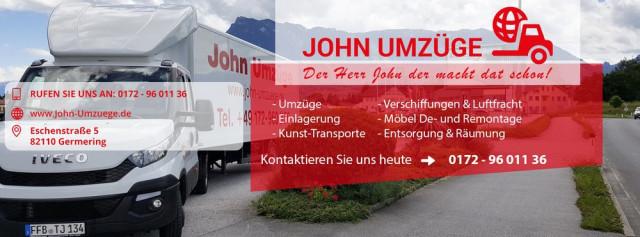 John Umzüge Transporte Umzüge Tel 089 513065