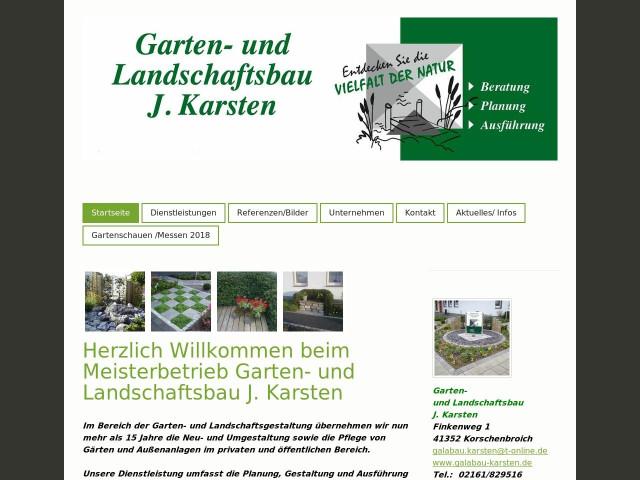 ▷ Jürgen Karsten Garten- u. Landschaftsbau ✅ | Tel. (02161) 8295 ...