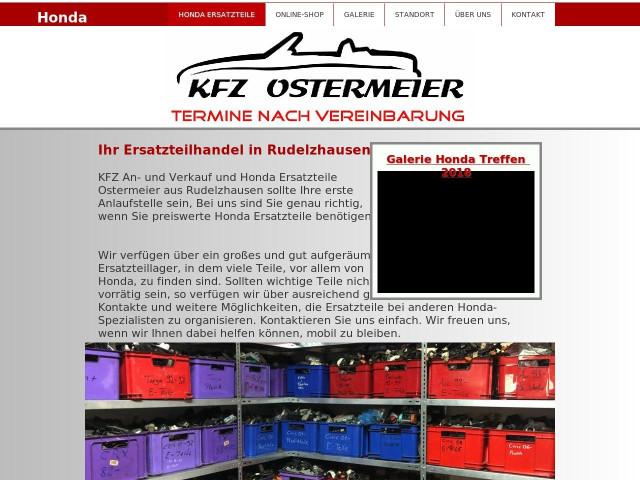 kfz an und verkauf und honda ersatzteile ostermeier tel 08752 16. Black Bedroom Furniture Sets. Home Design Ideas