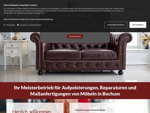 Alex Bochum kirchner kirchner gbr polsterei alex tel 0234 32558