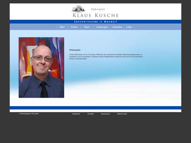 ▷ Klaus Kusche Zahnarzt ✅   Tel. (06237) 602... ☎ - Adresse
