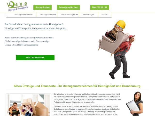 Umzugsunternehmen Berlin Bewertung kleeo umzüge und transporte e k umzugsunternehmen berlin