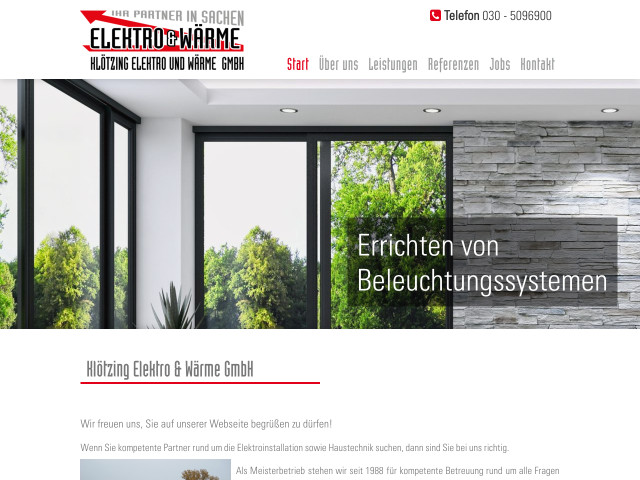 Klötzing Elektro und Wärme GmbH - Elektroinstallation - Berlin ...