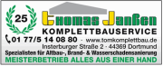 Komplettbauservice Thomas Janßen       Dortmund
