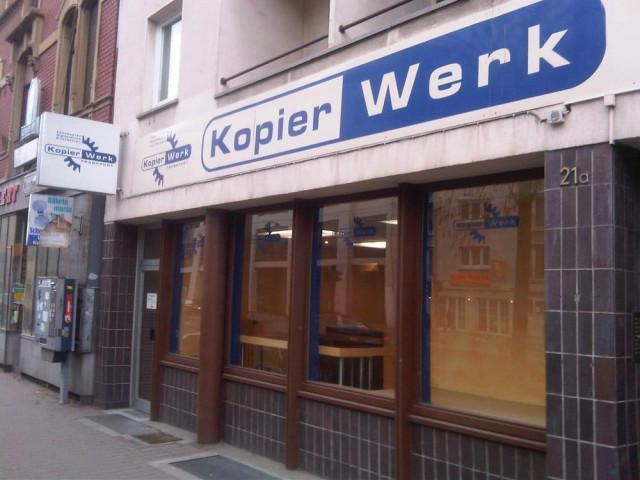 Kopierwerk Frankfurt Bockenheim öffnungszeiten Telefon