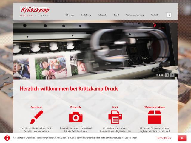 Krützkamp Druck K H Krützkamp Druckereien Glandorf