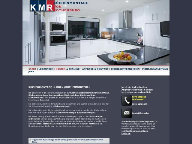 Kuchenmontage Von Rothenburg Tel 0178 68828