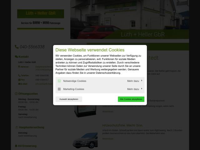 ▷ lüth & heller gbr service für bmw + land rover fahrzeuge ✅ | tel