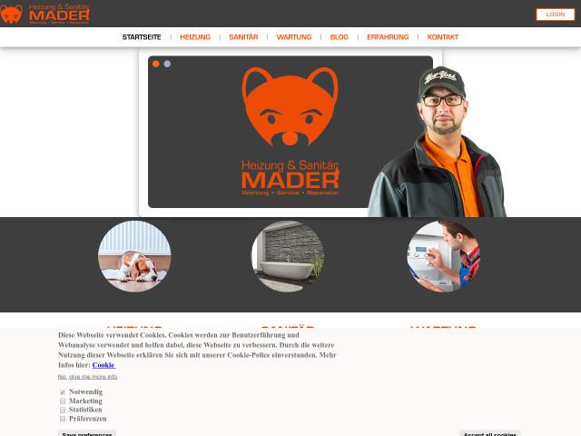 mader heizung sanit r tel 0201 509059 adresse. Black Bedroom Furniture Sets. Home Design Ideas