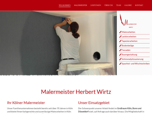 Malermeister Köln malermeister herbert wirtz tel 0221 5415 adresse