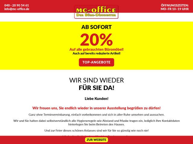 ▷ Mc -Office GmbH & Co. KG ✅ | Tel. (040) 209054... ☎ -