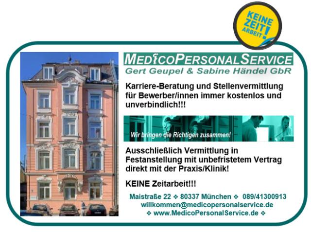▷ MEDICOPERSONALSERVICE Gert Geupel & Sabine Händel GbR ✅ | Tel ...