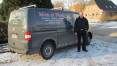 Men-at-work Dachdecker Marcell Kalz
