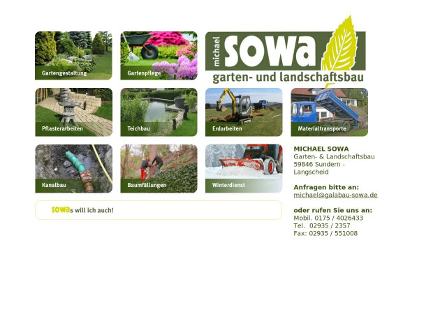 ▷ Michael Sowa Garten- & Landschaftsbau ✅ | Tel. (02935) 23... ☎ -