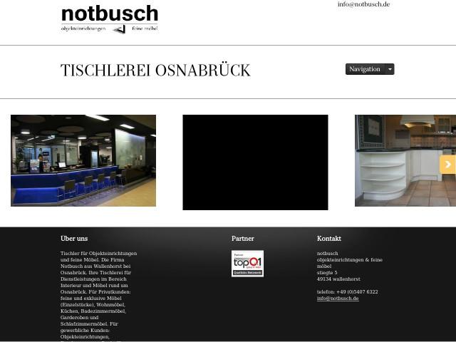 Möbel Wallenhorst notbusch objekteinrichtungen und feine moebel tischlerei tel