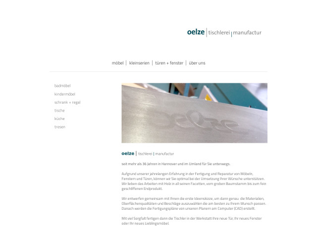 Tischlerei Hannover oelze tischlerei manufaktur tel 0511 220025
