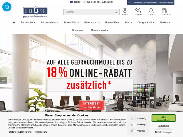 office 4 sale b rom bel gmbh lagerverkauf bei berlin. Black Bedroom Furniture Sets. Home Design Ideas