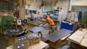 ... in der Möbelproduktion.. CNC trifft auf Kante....