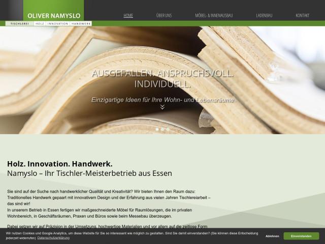 Tischlerei Essen oliver namyslo tischlerei tel 0201 81179 adresse