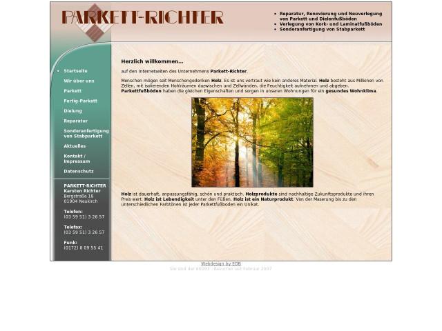 Parkett Richter parkett richter karsten richter tel 035951 326