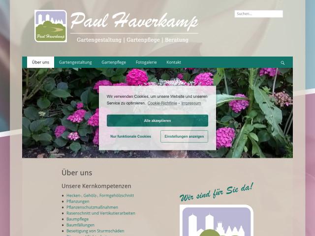 Paul Haverkamp Garten Und Landschaftsbau Tel 0251 7944