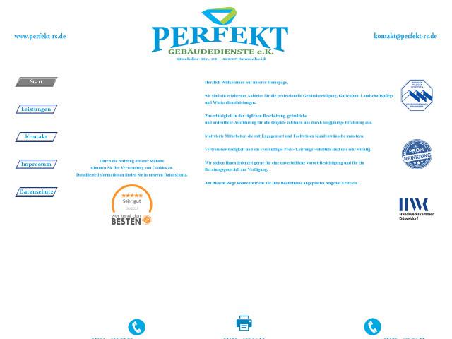 Perfekt Gebäudereinigung Gebäudeservice Tel 02191 60806