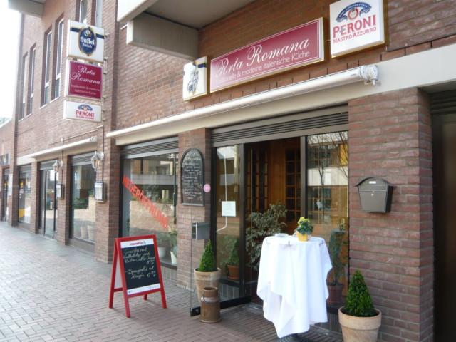 Porta Romana Restaurant Tel 02234 96737