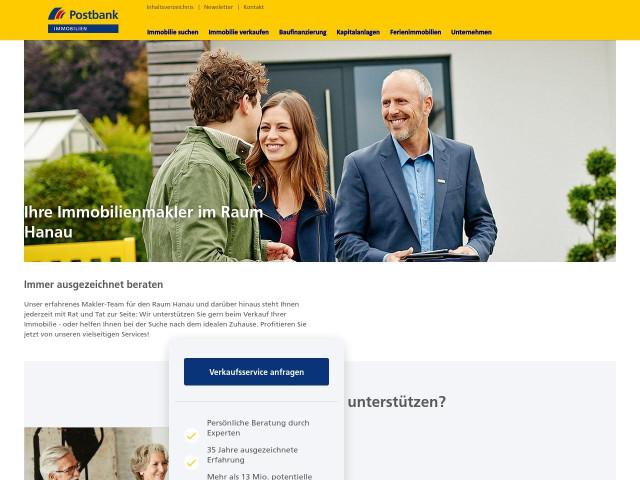 ▷ Postbank Immobilien GmbH Hanau ✅   Tel. (06181) 9286... ☎ -