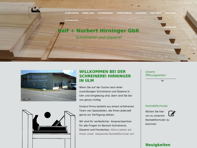 Ralf U Norbert Hirninger Gbr Tel 0731 684