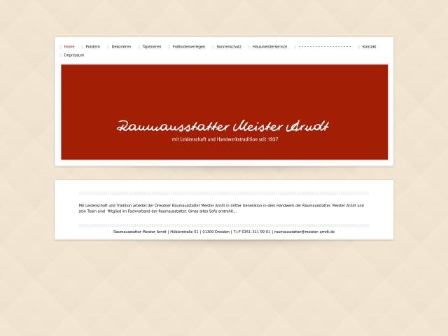Raumausstatter Dresden raumausstatter meister arndt tel 0351 31199