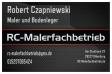RC-Malerfachbetrieb Robert Czapniewski Oldenburg