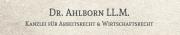 Rechtsanwalt DR. AHLBORN  LL.M. - Fachanwalt für Arbeitsrecht & Handels- und Gesellschaftsrecht Bielefeld