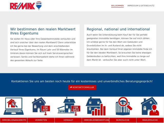 Immobilienmakler Lahr remax immobilien tel 07821 99841 bewertung