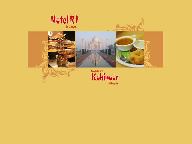 Restaurant Kohinoor Indische Kuche In Esslingen Tel 0711