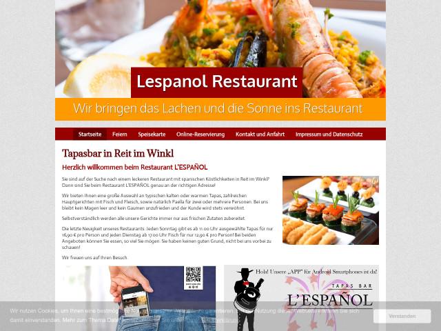 ▷ Restaurant Tapas Bar L espanol ✅ | Tel. (08640) 79749... ☎ -