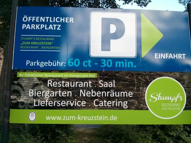 Restaurant Zum Kreuzstein Mario Stumpf Hof Offnungszeiten Telefon Adresse