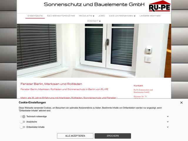 Bauelemente Berlin ru pe sonnenschutz und bauelemente gmbh fil lankwitz fensterbau