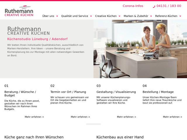 Küchen Lüneburg ruthemann creative küchen tel 04131 183