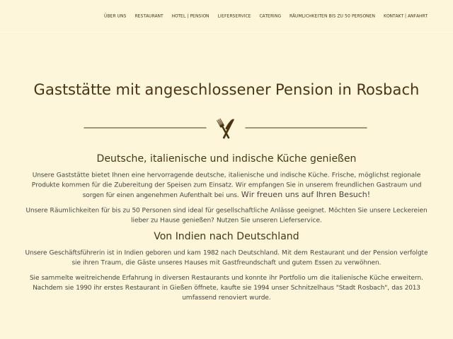 ▷ Schnitzel Haus Pension-Restaurant \