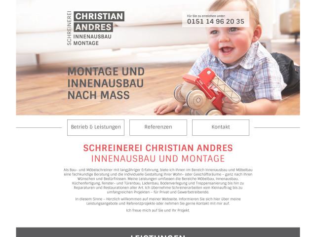 Tischler Nürnberg schreinerei christian andres tel 09129 29062