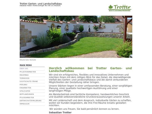 ▷ Sebastian Trotter Garten- und Landschaftsbau ✅ | Tel. (0172 ...