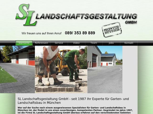Landschaftsgestaltung  ▷ SL Landschaftsgestaltung GmbH ✅ | Tel. (089) 353898 ...