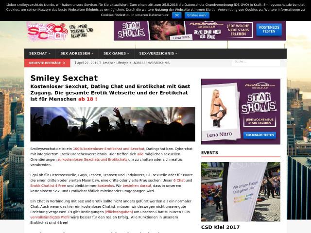 völlig kostenlose Erotik-Websites