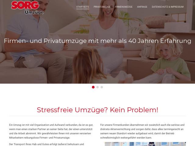 ▷ Sorg Intern. Möbeltransport GmbH ✅   Tel. (0911) 95158357-1 ☎ -